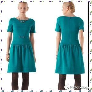 White House Black Market Dresses - White House Black Market Teal Dress sz. 8
